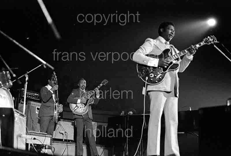 BB King Amsterdam 1971 Netherlands