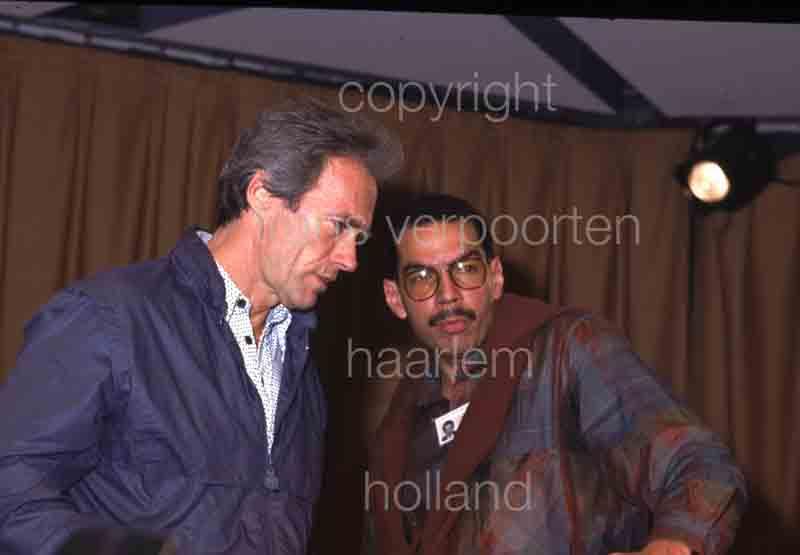 Clint Eastwood Cannes 1984