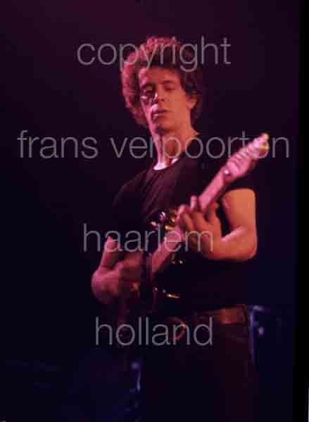 Lou Reed 1974 performance Amsterdam
