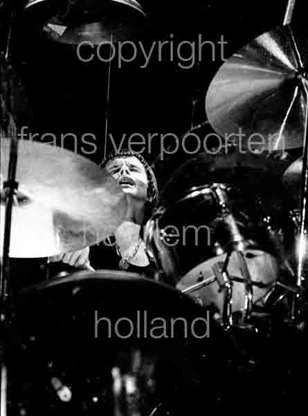 Emerson, Lake & Palmer 1973 Carl Palmer