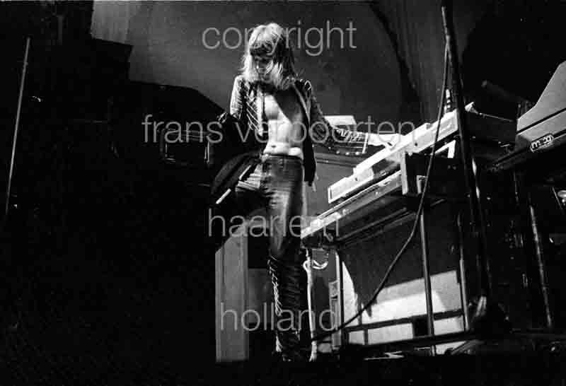 Emerson Lake & Palmer 1973 Keith Emerson