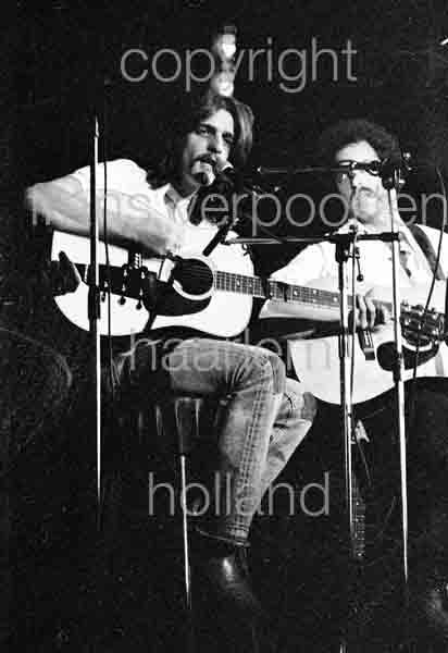 Eagles 1973 Glenn Frey Bernie Leadon