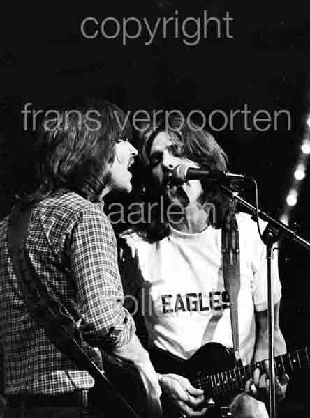 Eagles 1973 Randy Meisner Glenn Frey