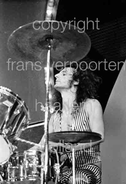 Slade Don Powell 1973 Voorburg Netherlands