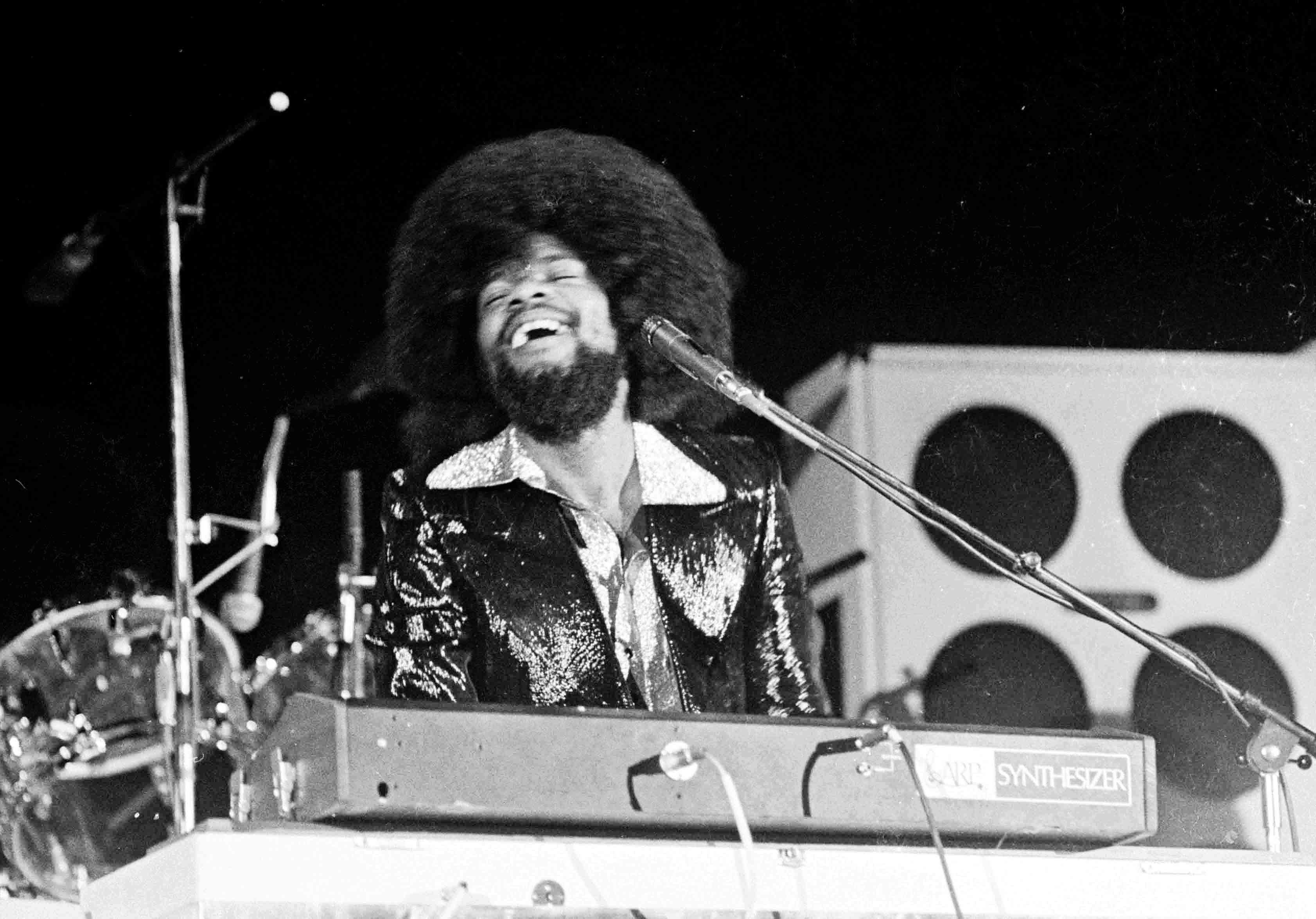 Billy Preston suport Stones Vienna 1973