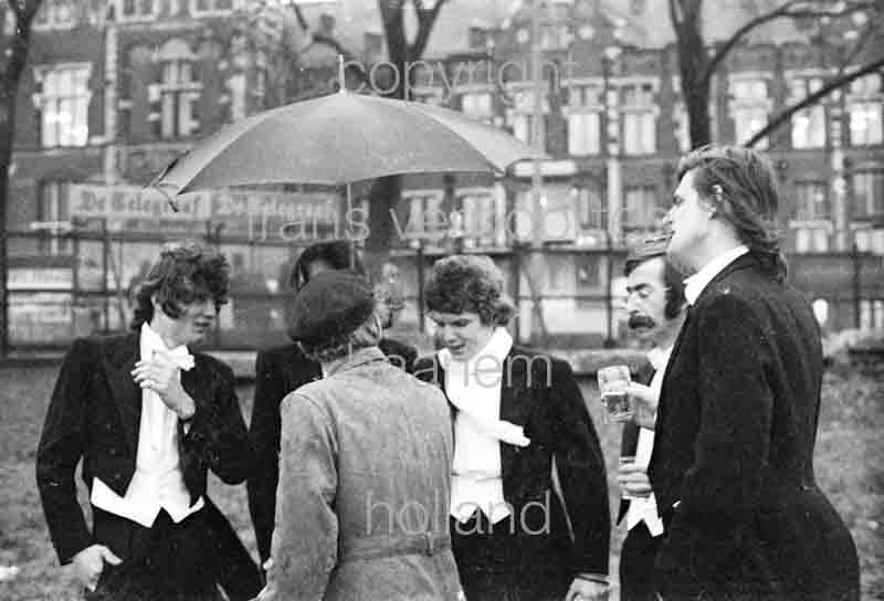 Bob Evers Genootschap 1972 Amsterdam