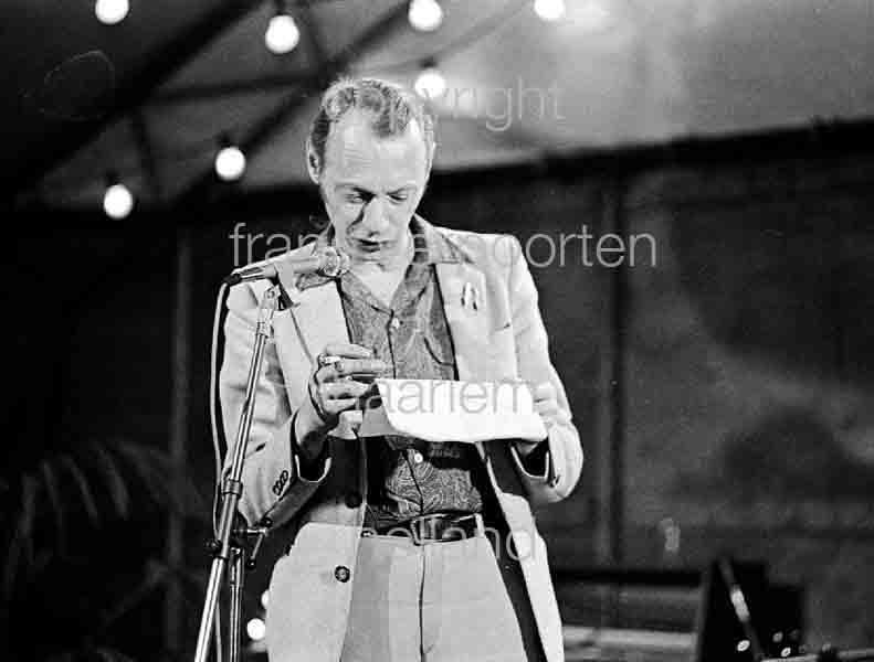 Simon Vinkenoog pres Michael van Mander 1979