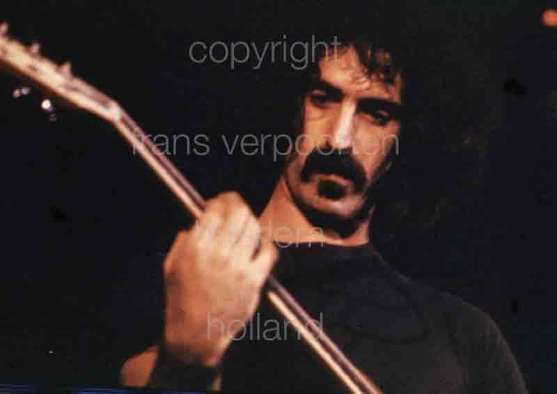 Frank Zappa Amsterdam 1973